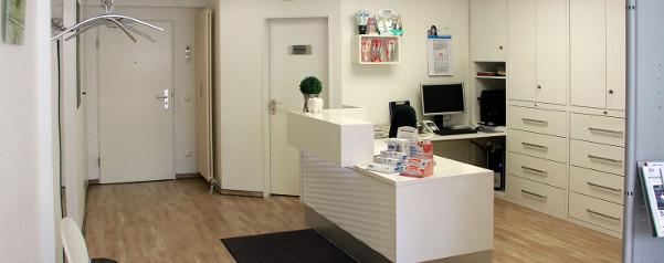 Zahnarztpraxis Solingen Eingang